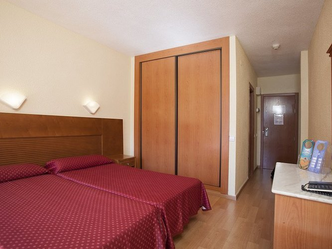 Chambre double hôtel magic villa benidorm