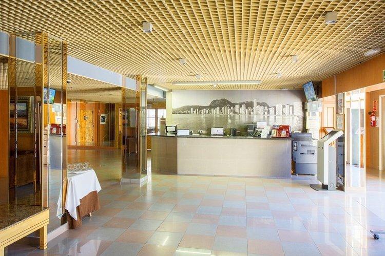 Accueil hôtel magic villa benidorm
